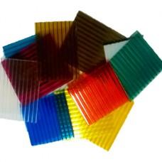 Сотовый поликарбонат 4мм цветной