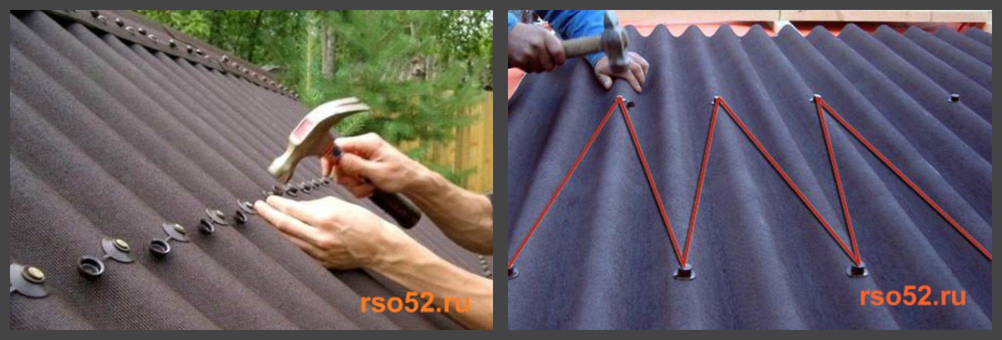 Как крепить оцинкованный конёк на шиферную крышу? - ответы 55